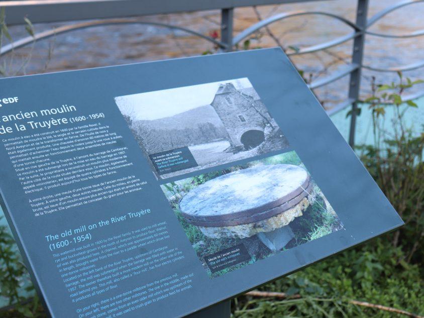 L'ancien moulin de de la Truyère à Entraygues